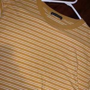 RARE stripped yellow t-shirt!